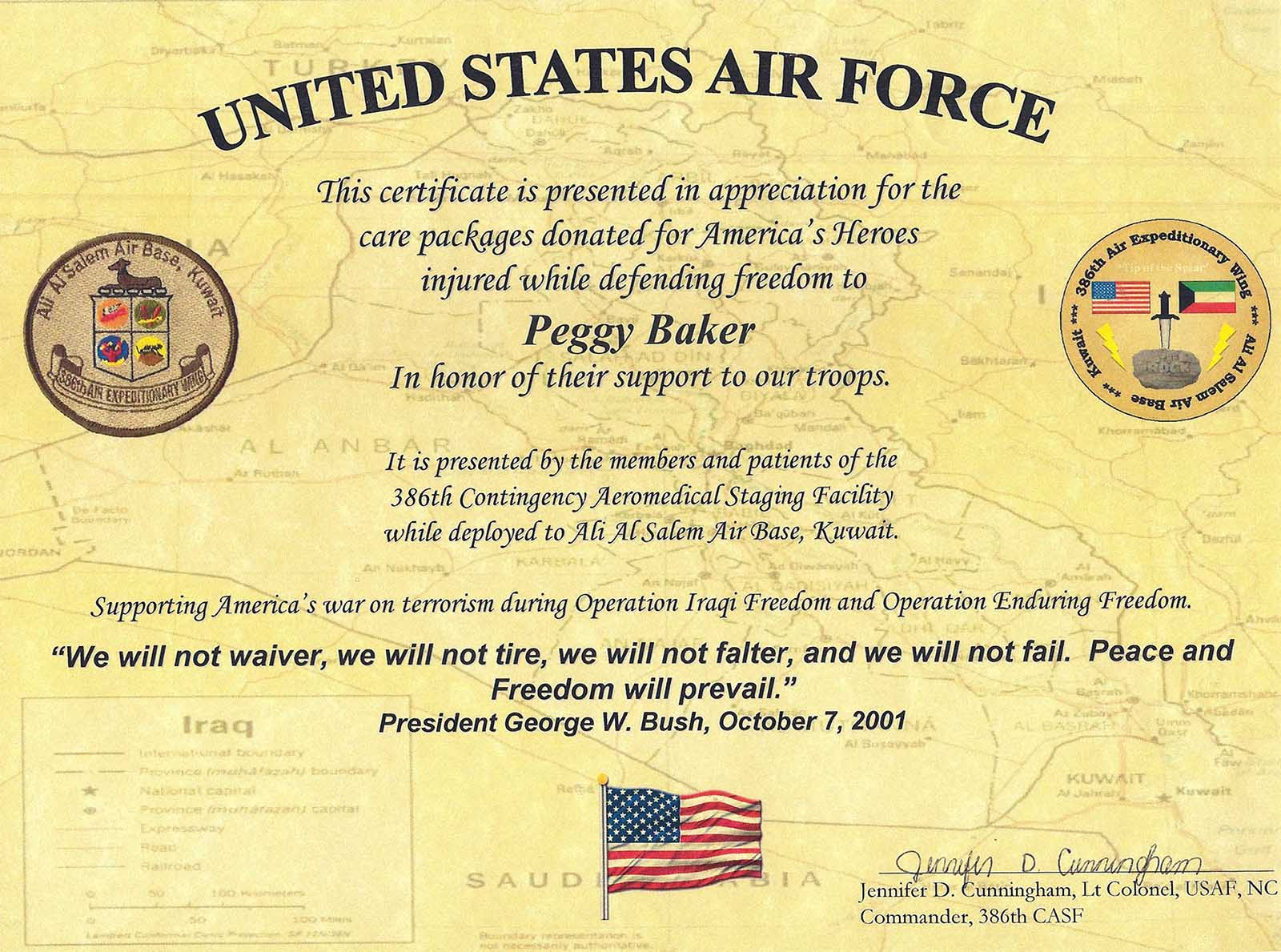 Usaf certificate of appreciation template images certificate air force certificate of appreciation template image collections usaf certificate of appreciation template choice image air alramifo Image collections