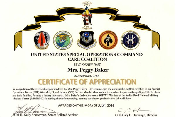 United States Special Operations Command Care Coalition