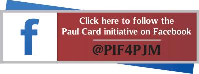 Follow the Paul Card initiative on Facebook