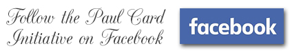 Follow the Paul Card initiative on Facebook