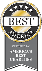 Best in America - certified by America's Best Charities