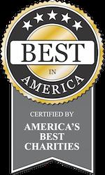 Best in America - certified by America's Best Charities